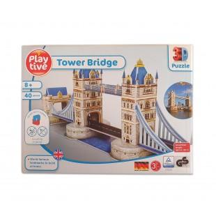 Puzzle 3D - Tower Bridge (40 piese)