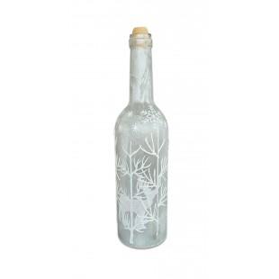 Ornament de Craciun - Sticla iluminata cu led (7x30 cm)