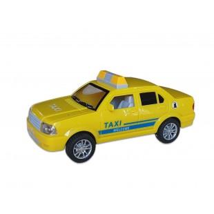 Masina taxi pentru copii - Galbena