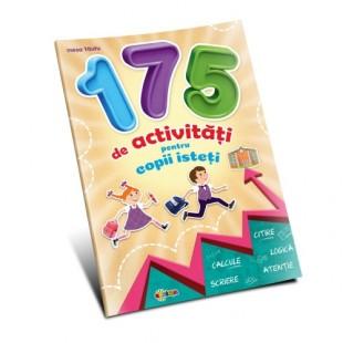 Marea carte de colorat - 175 de activităţi pentru copii isteţi - Carte educativă